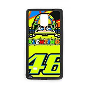 Beautiful Novel Innovative Gifts Samsung Galaxy Note 4 Cell Phone Case Black Valentino Rossi 003 Trendy OTWZJ8135705