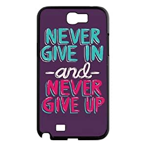 Never Give Up High Qulity Customized Cell Phone Samsung Galaxy S5 I9600/G9006/G9008 , Never Give Up Samsung Galaxy S5 I9600/G9006/G9008 Case
