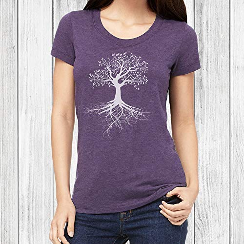 Graphic T Shirts for Women Tree of Life Tshirt Junior Fit Tee 6 Colors