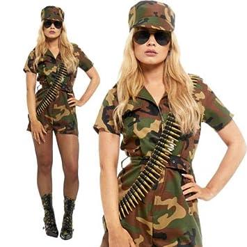 women Army girl costume