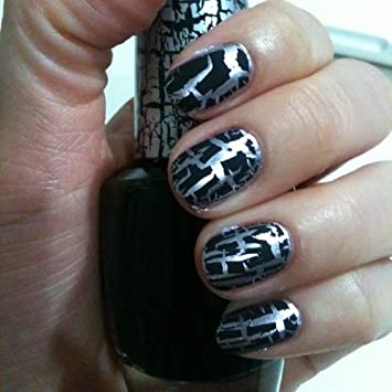 Generous Essie Mini Nail Polish Huge Home Remedy For Nail Fungus Vinegar Clean Presto Gel Nail Polish Makeup And Nail Polish Games Young Best Nail Art Designs For Short Nails RedWhat Is The Best Brand Of Gel Nail Polish Amazon.com : OPI: Lacquer Black Shatter, 0