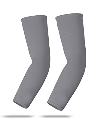 Sports Farm Youth /& Adult Sizes Moisture Wicking Compression Arm Sleeve Over 50 Colors Available In Our Store