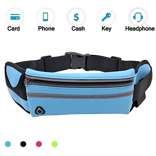 Mobile Phone Accessories Earnest Women Men Waist Bag Sport Waist Bag Screen Touching Waterproof Running Belt Pouch Mobile Phone Holder For Phone 6.0 Moderate Cost