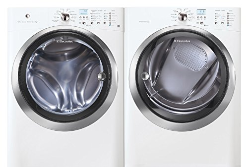 Electrolux IQ-Touch White Front Load Laundry Pair with EI...