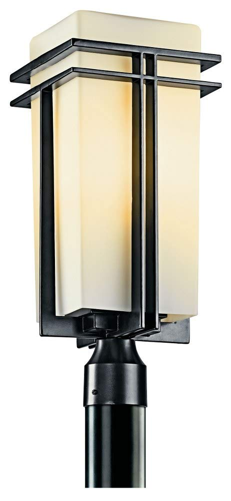 Tremillo Collection Black 20'' High Outdoor Post Light by KICHLER