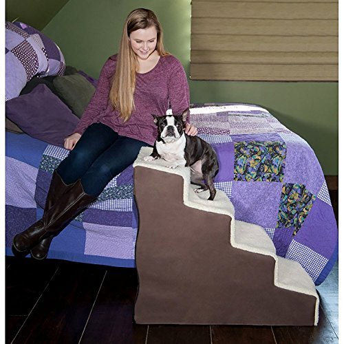 Easy Step IV Deluxe Soft Pet Stairs by Pet Gear