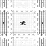 Hephaestus Crafts Blocking Mats for Knitting - Pack of 9 GRAY Blocking Boards with Grids for Needlepoint or Crochet. 150 T-pins