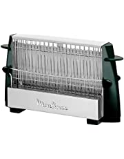Moulinex Multipan A15453 - Tostador clásico de 760 W para todo tipo de pan, negro/inox