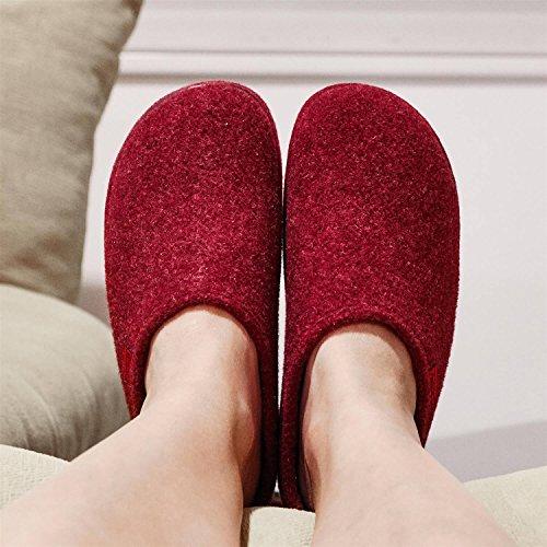 Pantofole Donna Machado Bordeaux Feutre Andres 7vq8wX7
