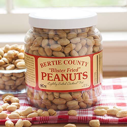 Bertie County Blister Fried Peanuts, 30oz jar by Bertie County