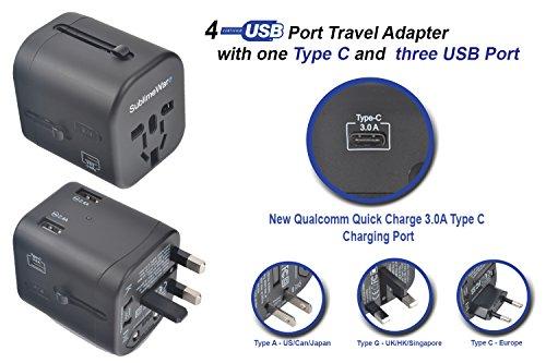 International Power Adapter  - Power European Adapter Plug -