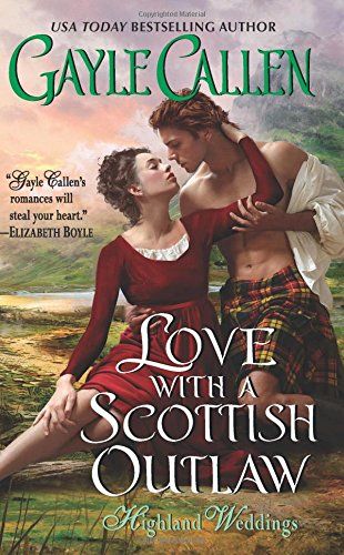 book cover of Love with a Scottish Outlaw