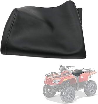 Amazon Com Motoparty Seat Cover Black For Arctic Cat 4x4 2x4 1996 2005 250 300 400 454 500 Bearcat Automotive