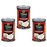 Thai Kitchen Organic Gluten Free Unsweetened Coconut Milk, 13.66 oz (Pack of 3)