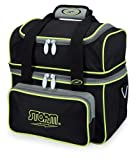 Storm S17137 Bowling Bag, Black/Gray/Lime,