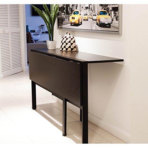 Dining Room Drop Leaf Folding Tables Rectangle Furniture