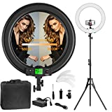 IVISII Wireless LED Remote Controller Wireless RF Remote Control for Ring Light with HD LCD Display, Come with CR2032 Battery Contained in Equipment