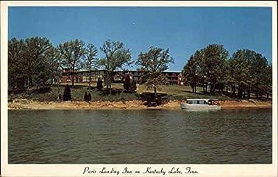 Paris Landing Inn Kentucky Lake, Tennessee Original Vintage Postcard