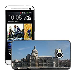 Hot Style Cell Phone PC Hard Case Cover // M00170083 Marseille Cathedral Architecture // HTC One M7