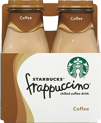 Starbucks Frappuccino Coffee, 1 Crew of 4 , 9.5 oz Bottles