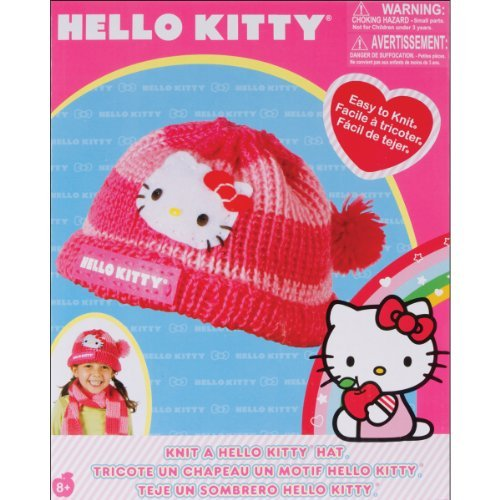 87214f589 Amazon.com: Zappies Knit a Hello Kitty Hat by Zappies: Toys & Games