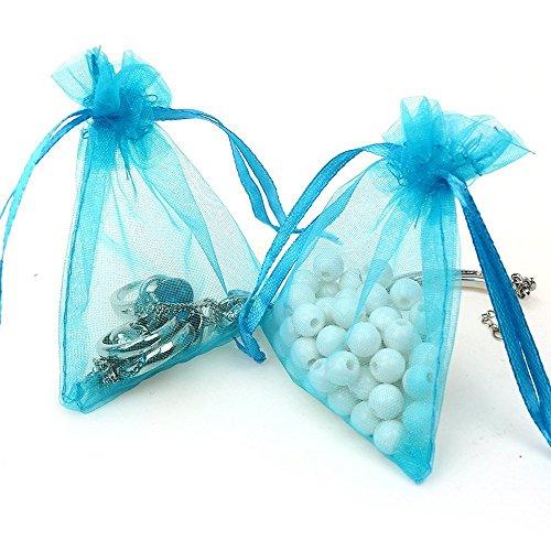 Organza Bags 100pcs 4 x 6 Inch Gift Bags Organza Drawstring