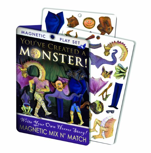 Create Your Own Monster Magnetic Dress Up Doll Play Set -