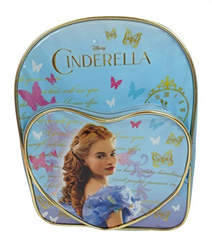 Disney Princess Children's Backpack, 6 Liters, Pale Blue DPRIN001226 (Disney Princess Girls Cinderella Classic Costume)
