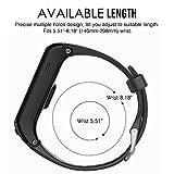Band for Garmin VIVOACTIVE HR Watch, Soft Silicone Wristband Replacement Band for Garmin Vivoactive HR Sports GPS Watch
