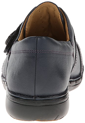 Clarks Un Esma Slip-on del holgazán Azul marino (navy leather)