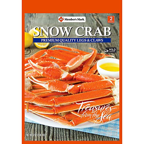 Member's Mark Snow Crab Legs and Claws (2 lb) (2)
