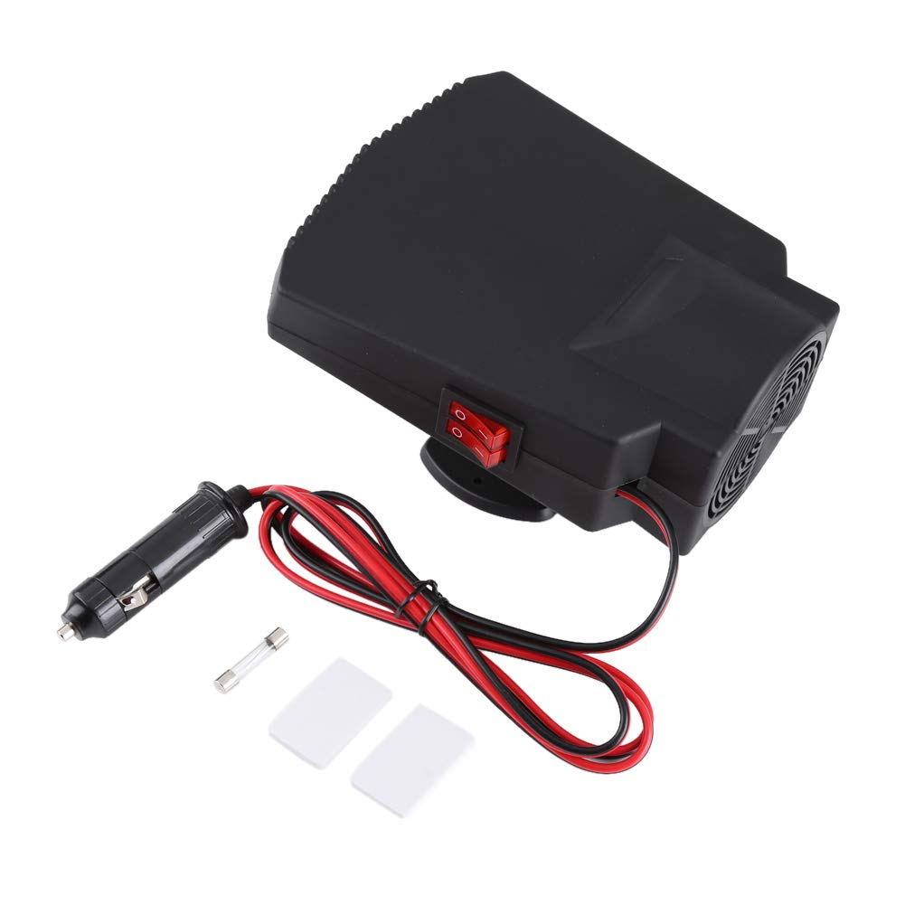 Car Heater Defroster, Fydun Heater Defroster Portable 12V 250W Car Windshield Window Defroster Ceramic Heater Cooler Fan by Fydun