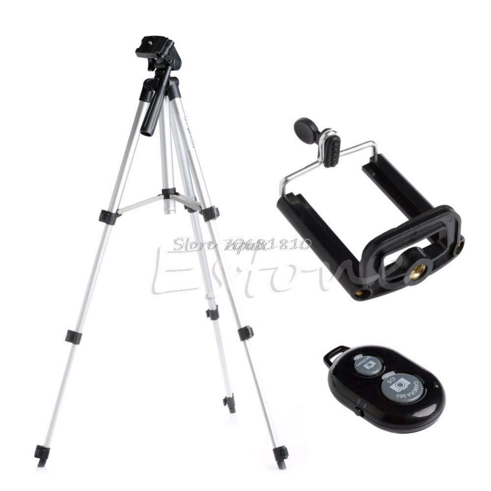 check out 8c59a 8ac1f Value-5-Star - Aluminium Camera Stand Tripod Holder+Remote Bluetooth ...