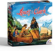 Jogo de Tabuleiro Lewis & Clark: A Exped