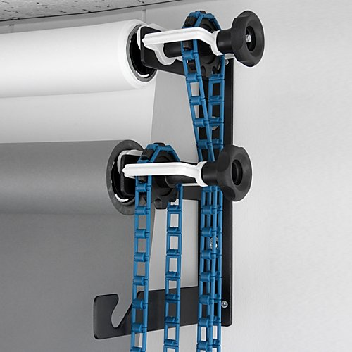 Fotodiox Triple Roller Paper Drive Set with Wall Mount Support for Mounting 3x Paper Background Roll by Fotodiox (Image #2)