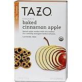 Tazo Organic Herbal Tea Baked Cinnamon Apple -- 20 Tea Bags - 2 pc