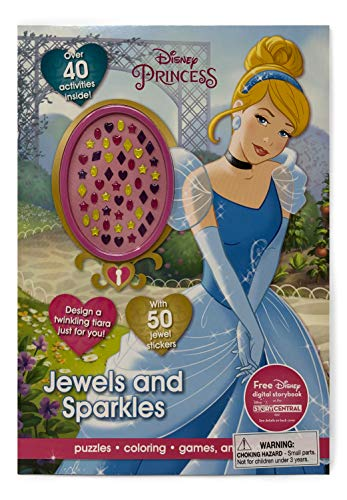 Disney Princess Easter Basket Pre Filled with Easter Candy, Easter Toys, Easter Basket Filler, and Easter Basket Grass | Great for Kids, Boys and Girls by Red Oak Collections (Image #4)