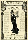 1902 Ad Wanamaker Store Womens Fall Walking Suits