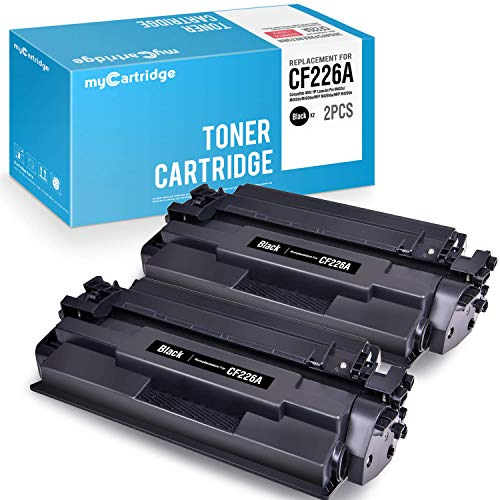 - myCartridge Compatible Toner Cartridge Replacement for HP 26A CF226A Black 2-Pack High Yield Fit for Laserjet Pro M402n M402dn M402dw Laserjet Pro MFP M426fdw M426dw M426fdn M402 M426 Series Printer