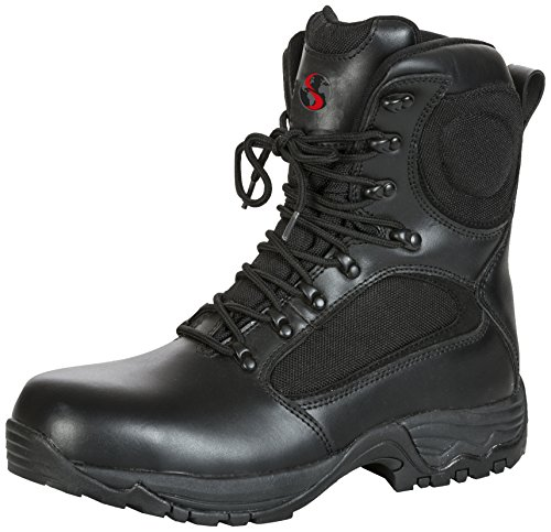 Seba 632NCE Stiefel, Schwarz S3HRO SRC, Größe 43, schwarz