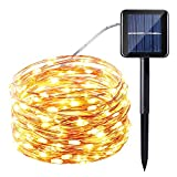 Features  Solar Powered LED String Light, No utility energy costs 100 individual LED lights for a special night lighting effectLights turn on automatically in darkness Up to 8 hours of continuous lighting with one single charge   Specification Brand:...