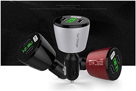 Boomboost LCD 36WデュアルUSBスマート自動車充電器ユニバーサル車の充電器