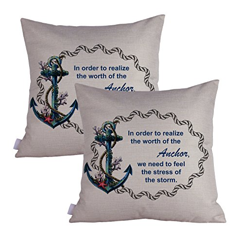 best selling top best 5 throw pillow anchor from amazon