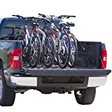 Apex Rage Powersports TBBC-4 4-Bike Pickup Truck Bed Bicycle Rack