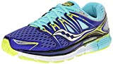 Saucony Women's Triumph ISO Running Shoe, Twilight/Oxygen/Citron, 9.5 M US