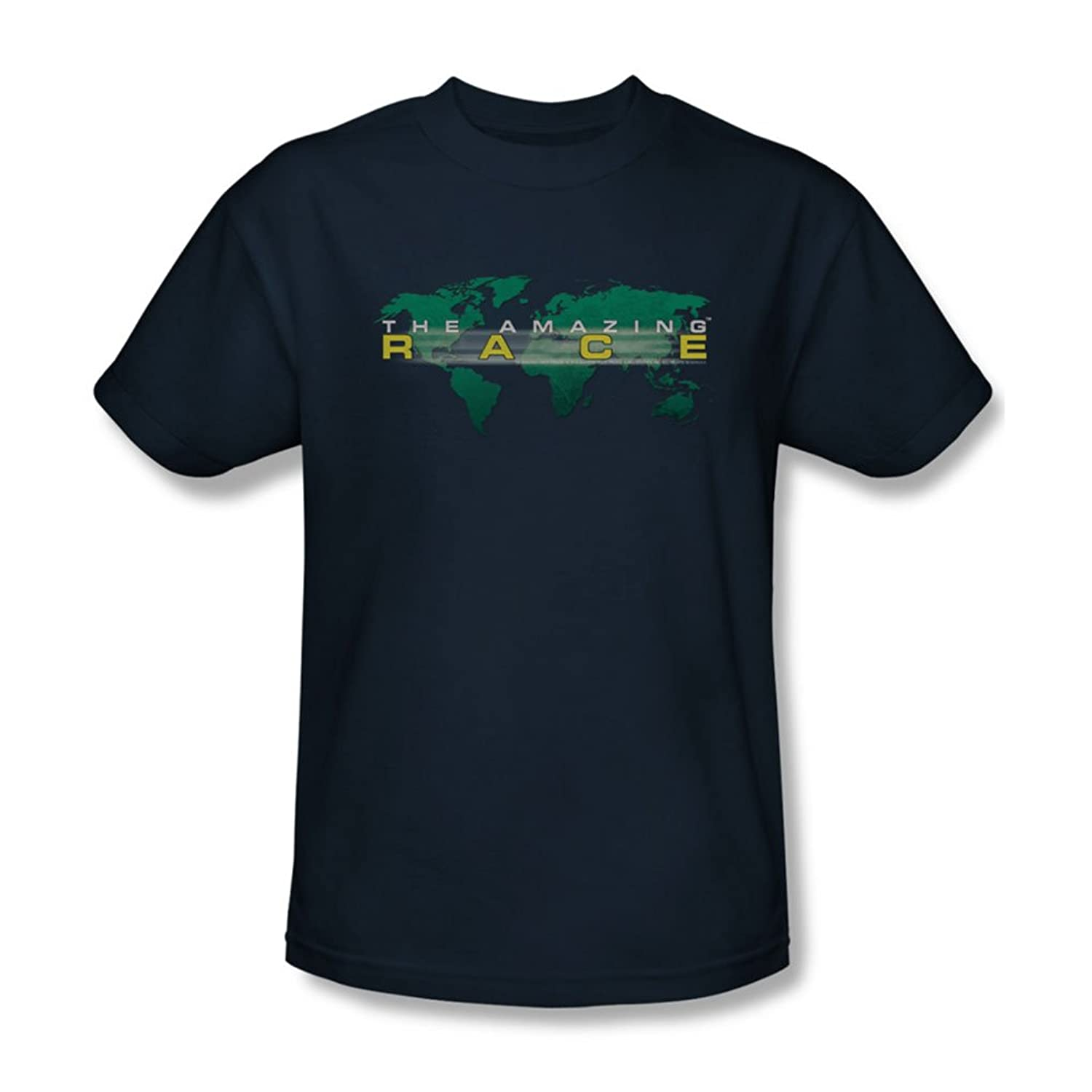 Amazing Race - Mens Around The World T-Shirt In Navy