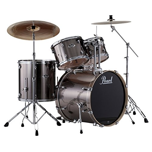 pearl-exx725-c-5-piece-export-standard-drum-set-with-hardware-smokey-chrome