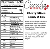 Candy Retailer Cherry Slices 2 Lbs