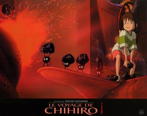 Spirited Away POSTER Movie (11 x 14 Inches - 28cm x 36cm) (2002) (French Style F)