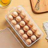 Clear Covered Egg Holder 3-Pack, Plastic Egg